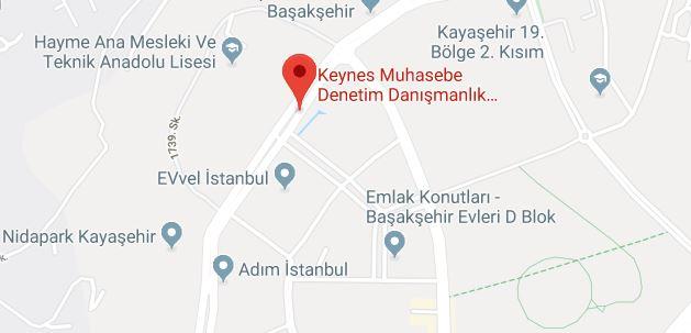 keynes-harita